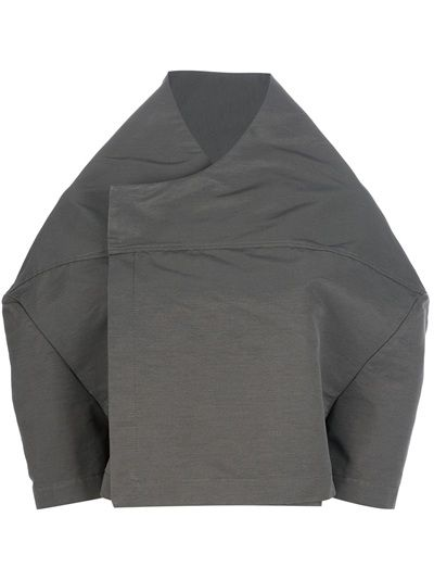 RICK OWENS Double Breasted Cape