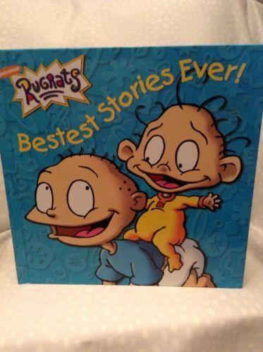 Rugrats Bestest Stories Ever! (2000, Hardcover) Nickelodeon Cartoon Show Book