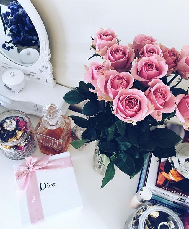 Roses & Dior for Today #LuxirareIsBack #Luxirare #roses #dior #webmagazine