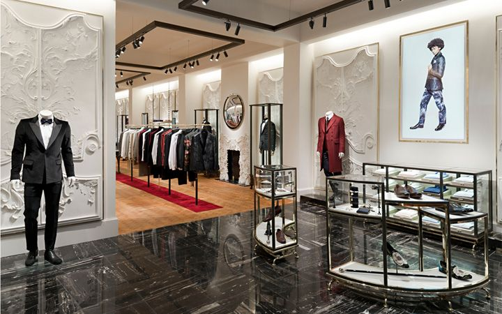 Alexander McQueen flagsip store by David Collins Studio & Sarah Burton, London store design