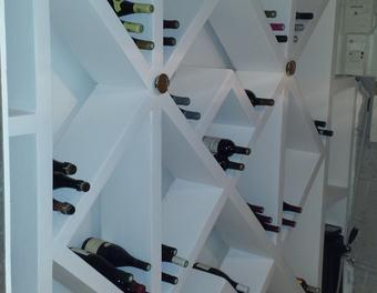 r alisation d 39 une cave vin en beton cellulaire b ton. Black Bedroom Furniture Sets. Home Design Ideas