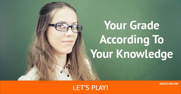 Are you as smart as a 1st grader, or are you ready for college? #Quiz #Personality