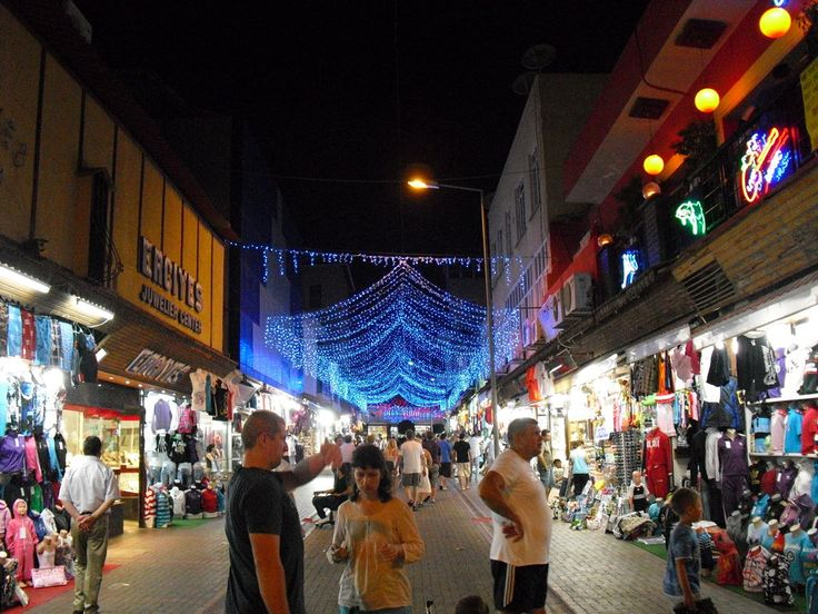 turkey alanya bazaar