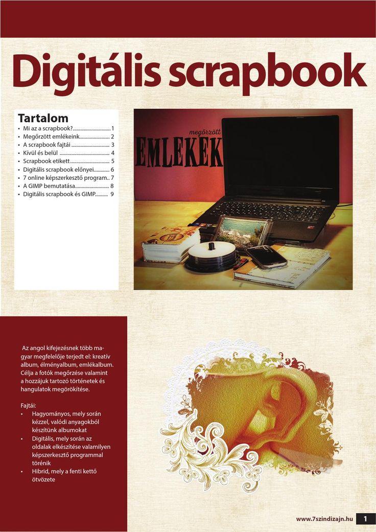 Digitális scrapbook  Mi az a digitális scrapbook