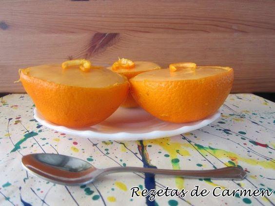 rezetas de carmen: Crema de naranja