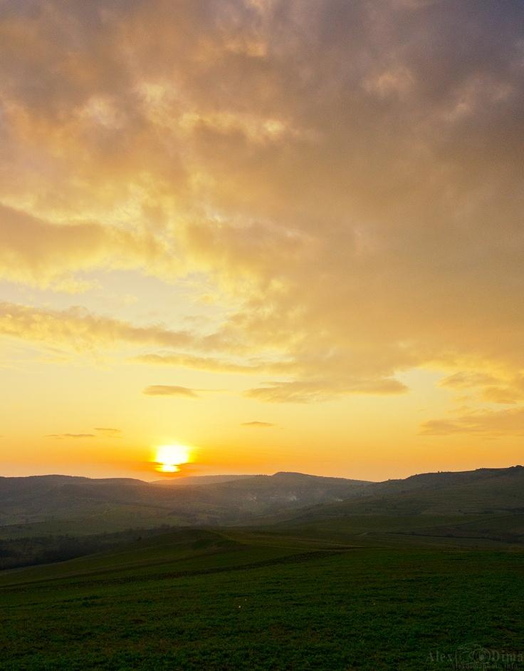 Sunset from Transilvania.