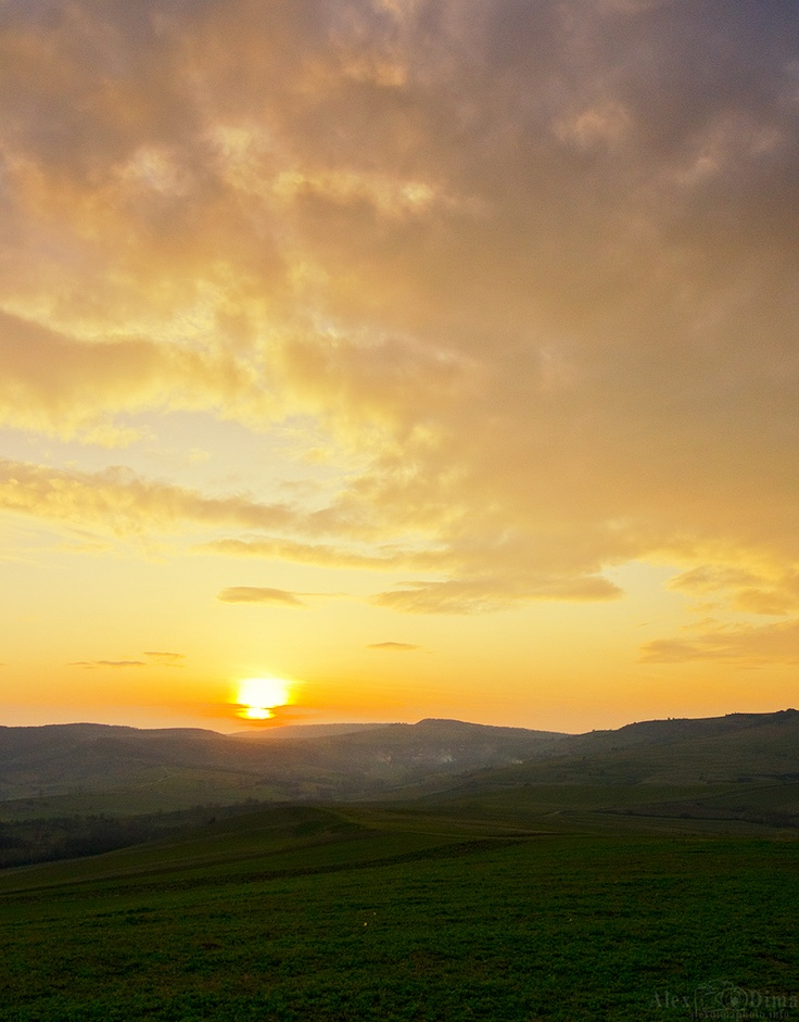 Sunset from Transilvania.