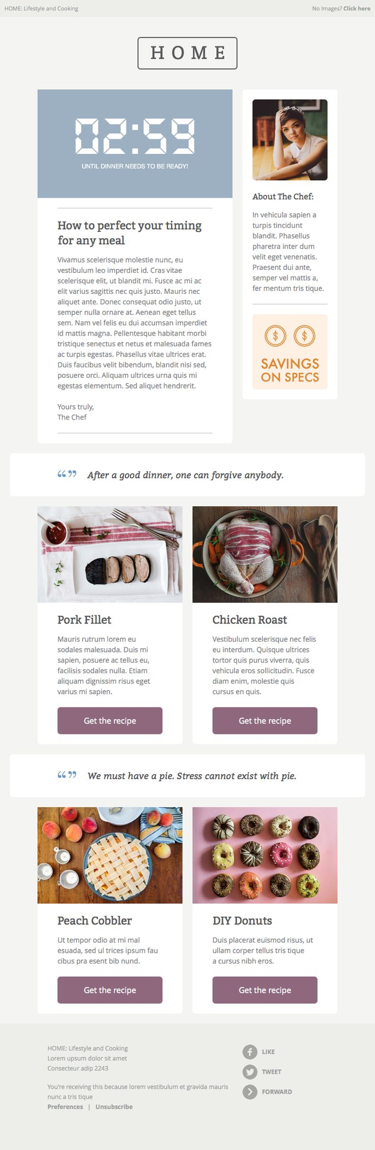 16 best enewsletters images on pinterest email for Www campaignmonitor com templates