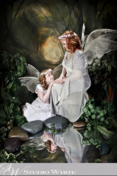 Mystical Creations by Studio White  ~Mother and Daughter - transform your Family Portraits!~