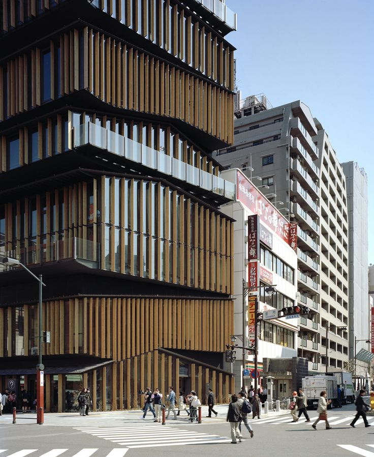 Asakusa Culture Tourist Information Center | kengo kuma and associates