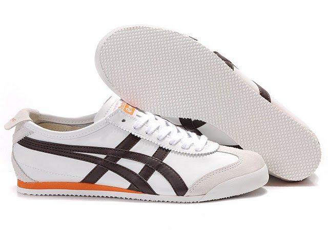 online retailer 3a58a ac7d8 Men s ASICS Onitsuka Tiger Mexico 66 Sport Shoes (White  Brown  Orange)   onitsukatiger