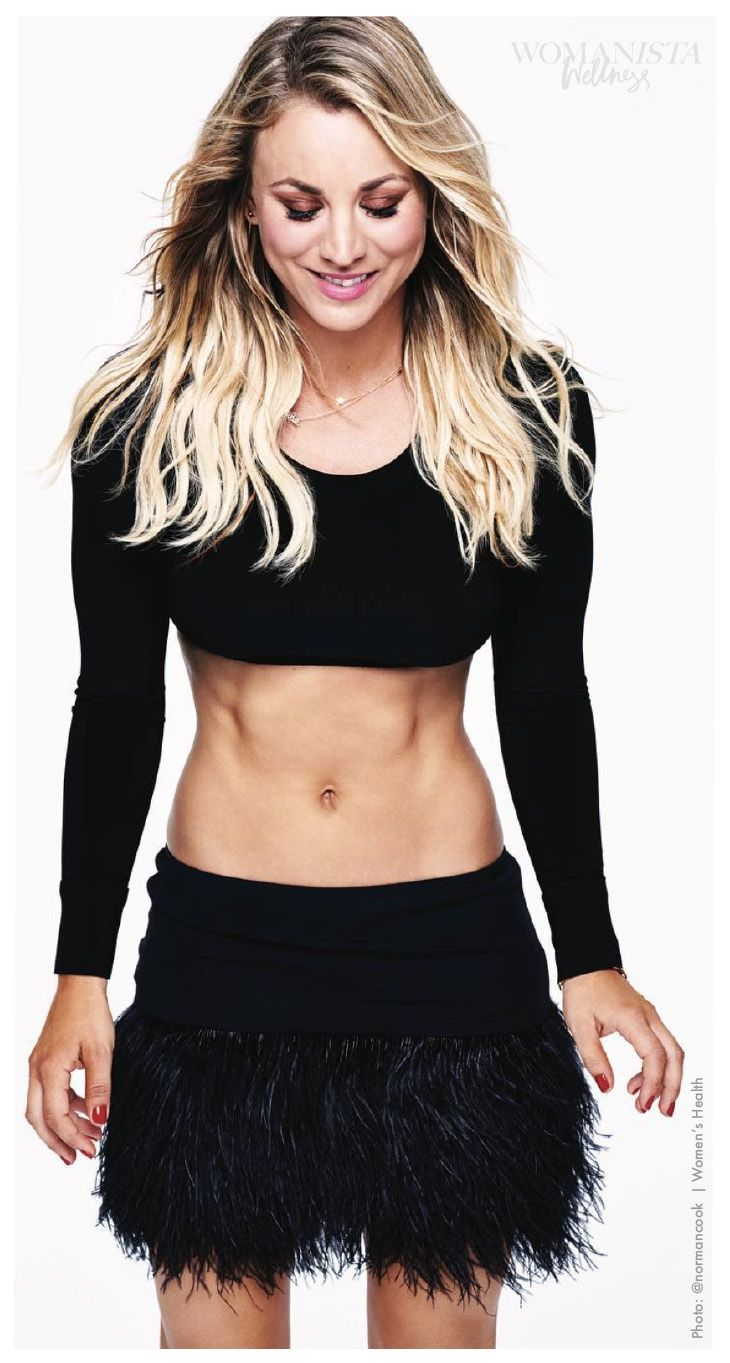 Charmed and 8 Simple Rules star Kaley Cuoco is major fitspo in this ab bearing picture, and she's sharing exactly what exercise she does to look this good.
