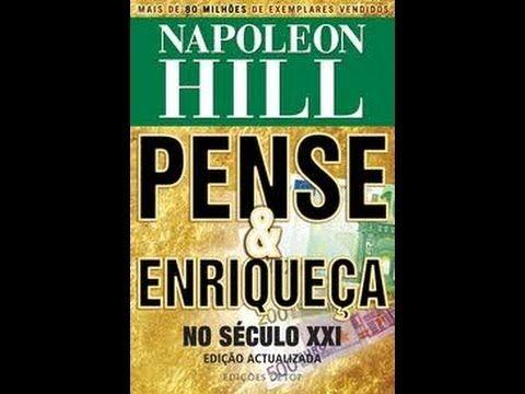 PENSE E ENRIQUEÇA AUDIO BOOK - NAPOLEON HILL - YouTube