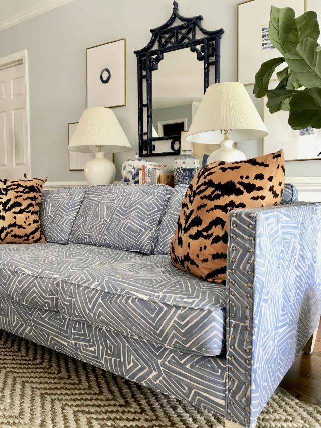I Bought A Patterned Sofa Printed Sofa Cheap Living Room Sets
