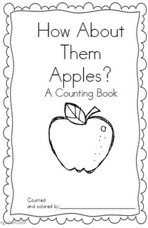 Mrs. Wills Kindergarten: Apple Counting Book Freebie // someone that teaches kindergarten, please use this just because the title of the book is hilarious.