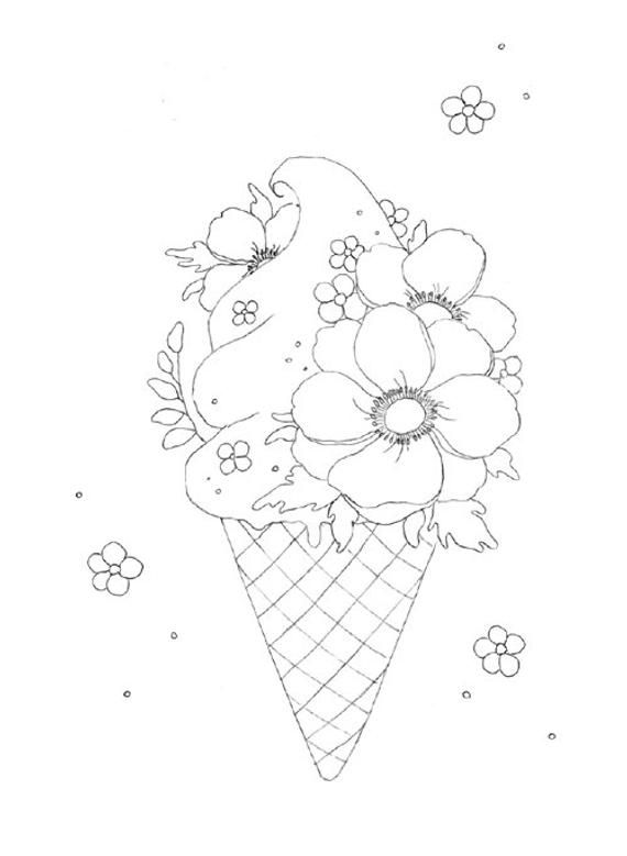 Printable Digital Coloring Book For Grownups The Magical Kingdom Coloring Book Hand Drawn Coloring Pages Download Alexandra Dannenmann In 2020 Coloring Books Coloring Pages How To Draw Hands