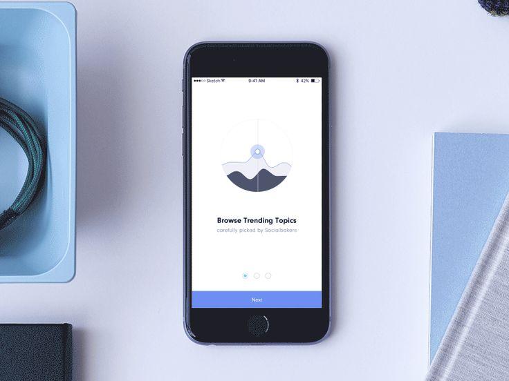 Content Inspiration App - Onboarding