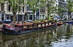 Houseboat - Amsterdam, The Netherlands