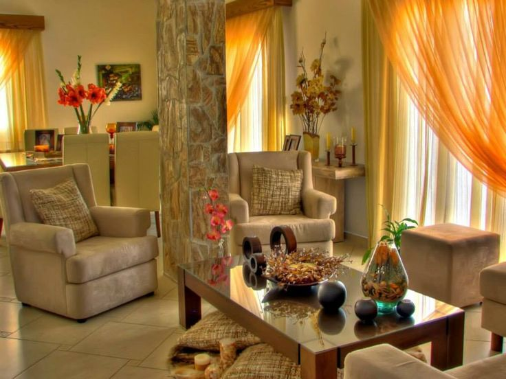 Sala Em Tons De Terra Casa E Decora O Pinterest