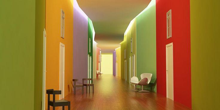 Remodelación de residencia de ancianos Madrid. Modernización de las instalaciones, rejuvenecimiento de los espacios, aumento de la calidad.