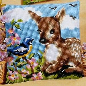 Deer cross stitch
