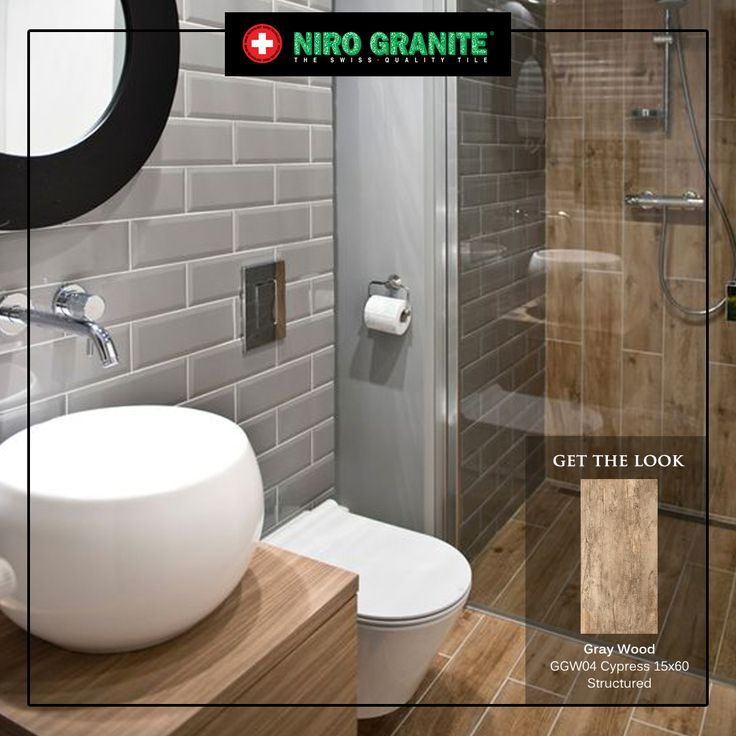 Aside softening your bathroom angles, wood touch in your bathroom could give you a comfortable relaxation after a tiring day. Enjoy the serenity and the calmness in your bathroom with Niro Granite's Gray Wood. Check out Gray Wood's full collection at www.nirogranite.co.id/product/gray-wood to add some refreshment in your bathroom.