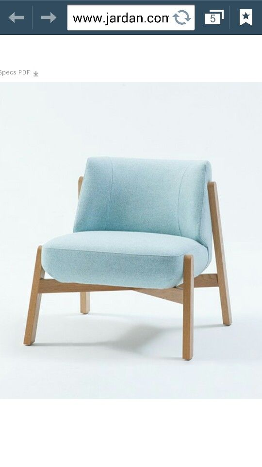 Jardan armchair