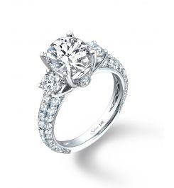 Gorgeous!!!: Side Stones, Agk Diamonds, 2 Carat Engagement Rings Round, 2 Carat Round Engagement Rings, Exquisit Engagement Rings, Collection Diamonds, Stones Diamonds, Diamonds Engagement Rings, Round Cut