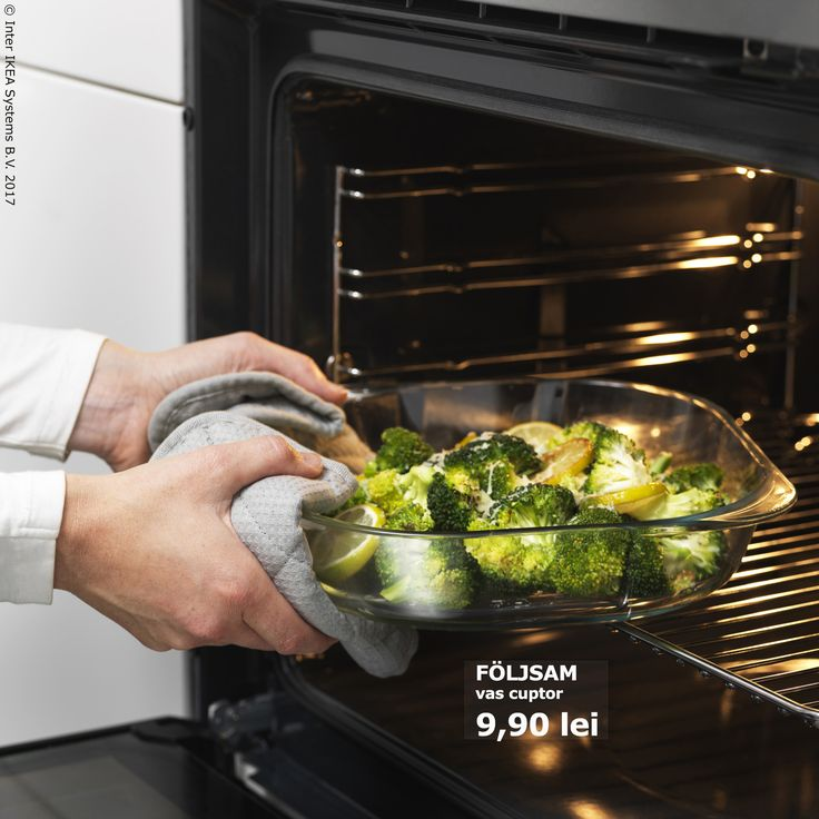Vasul de cuptor FÖLJSAM are un aspect simplu, care se potrivește cu prețul :)