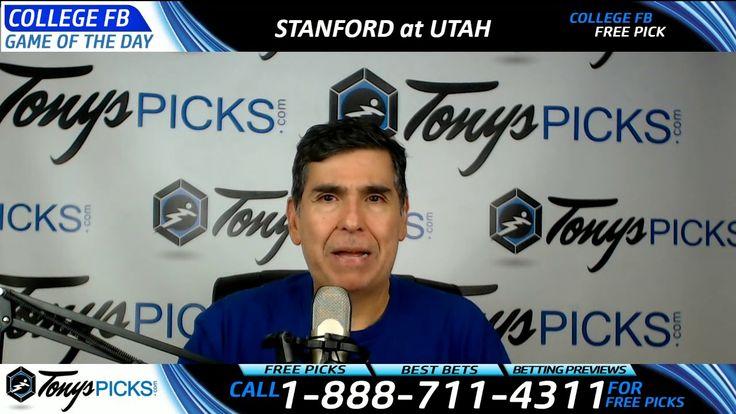 Stanford Cardinal vs. Utah Utes Free NCAA Football Picks and Predictions...