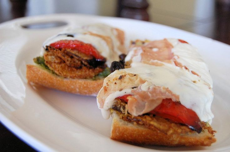 Open face ratatouille sandwiches a delicious way to for What to make with leftover applesauce