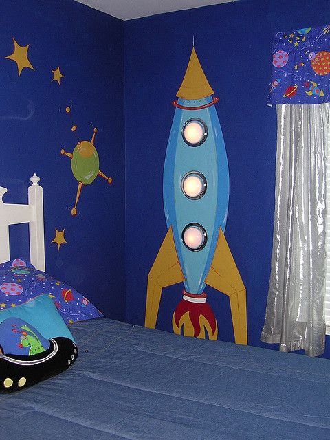 Find This Pin And More On My Portfolio Outer Space Theme Room