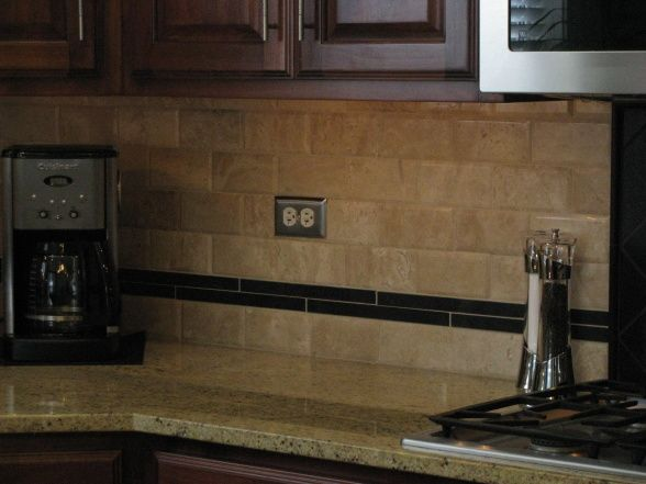 kitchen back splash tile travertine backsplash we finally decided to add 5017