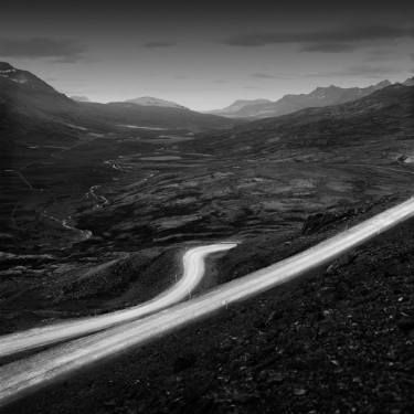 """Saatchi Art Artist Marcin Zuberek; Photography, """"On the Way Near Oxi Pass from the series: Strong Currents - Iceland 