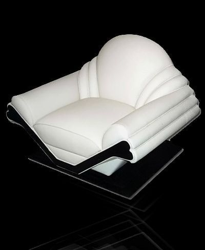 new art deco furniture. cygal art deco chair by peter new furniture