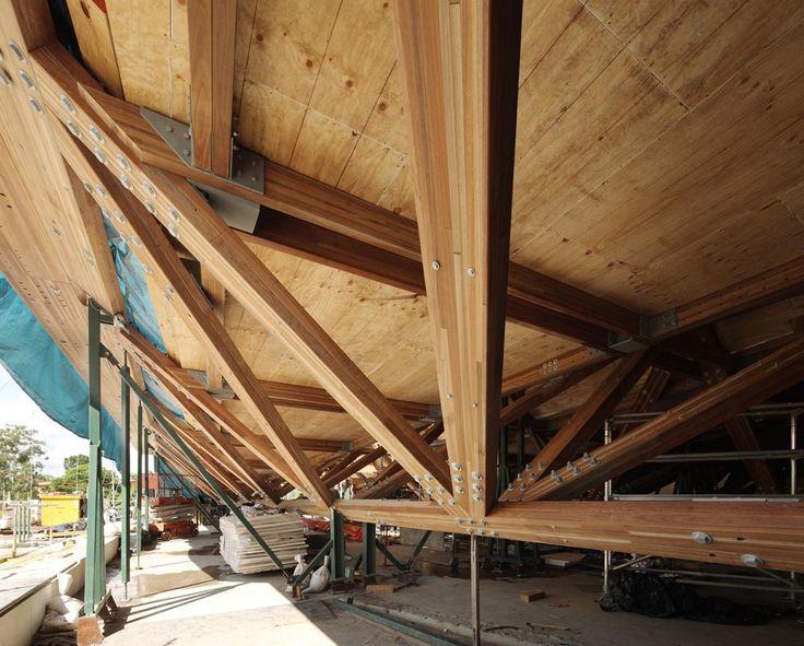 AEB Timber Truss Construction Photo