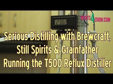 Serious Distilling with Brewcraft, Still Spirits & Grainfather - Running...