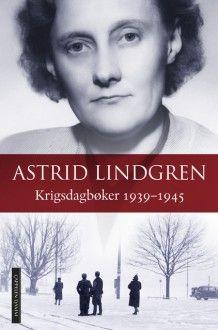 Krigsdagbøker 1939-1945 av Astrid Lindgren (Innbundet)