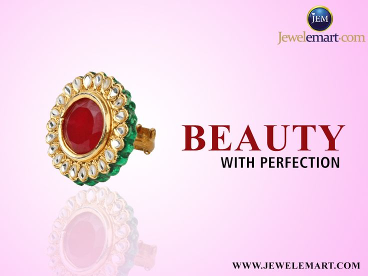 Amazing gold rings online in india. Buy gold jewelries at www.jewelemart.com