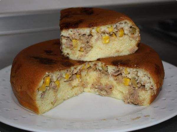 Torta Salgada na Panela Elétrica de Arroz por Valéria | Tortas e Bolos | Receitas.com