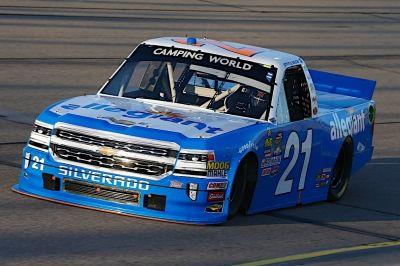 Johnny Sauter No. 21 Allegiant Chevrolet Silverado Iowa Recap #NASCAR