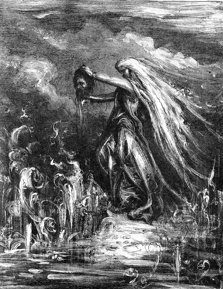 Slavic Mythology -Rusalka by masiani. In Slavic mythology a rusalka is a female ghost, water nymph, succubus, or mermaid-like demon that dwelt in a waterway. According to most traditions, the rusalki were fish-women, who lived at the bottom of rivers. In the middle of the night, they would walk out to the bank and dance in meadows. If they saw handsome men, they would fascinate them with songs and dancing, mesmerize them, then lead them away to the river floor to their death.