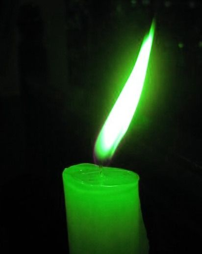Gratitude spell what you will need green candle patchouli oil ...