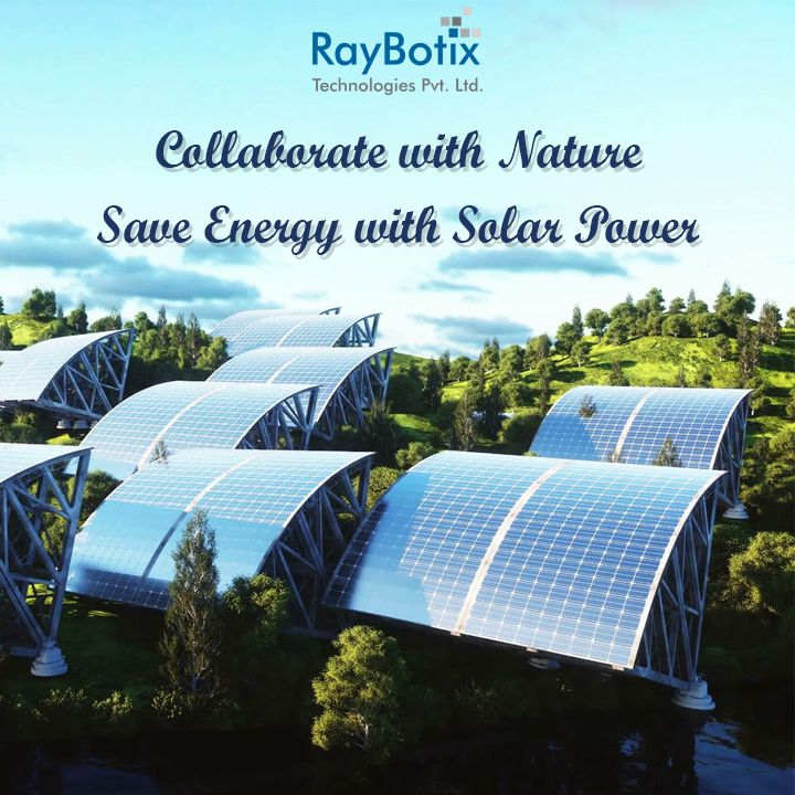 Premier Solar Energy Company In India Raybotix Solar invites you to collaborate with nature to save energy with solar power.  Call our experts 91 9978100900 now! #solarpanels #saving #electricity #gosolar