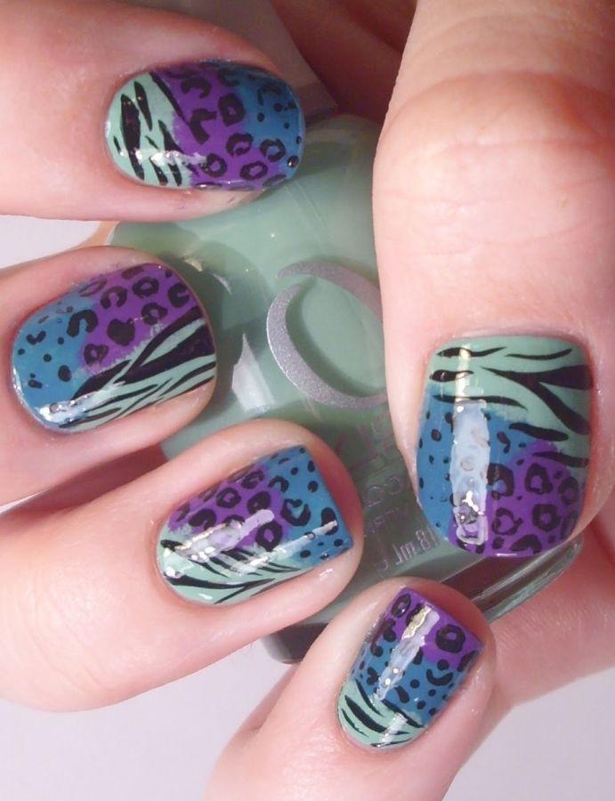 42 Best Leopard Print Nail Design Images On Pinterest Leopard