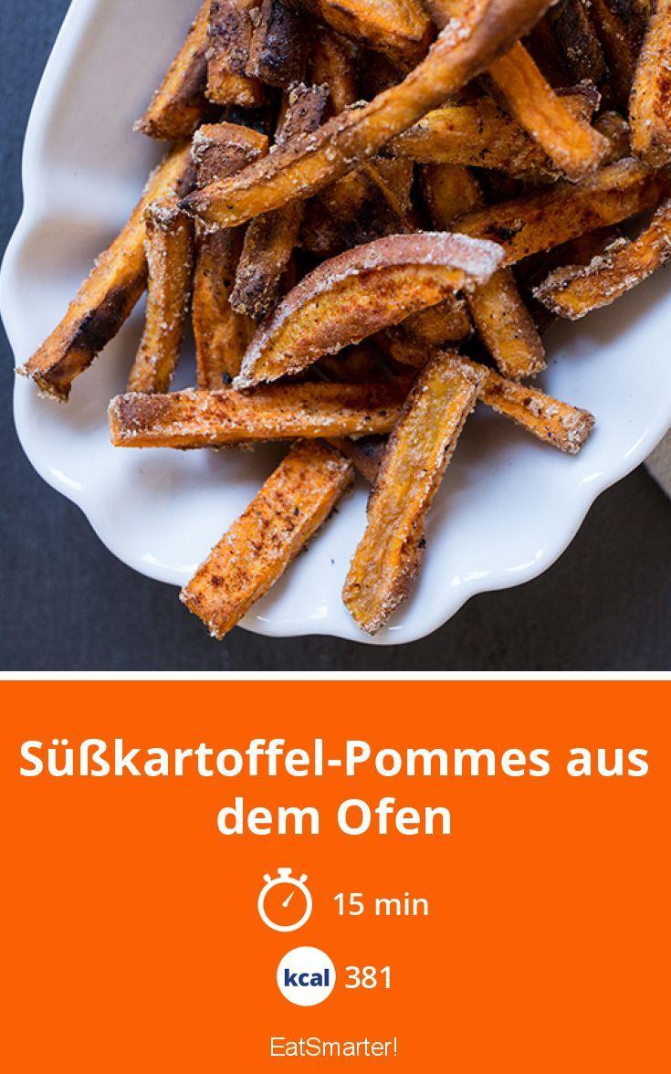 Süßkartoffel Pommes Aus Dem Ofen Rezept Amerikanische Rezepte