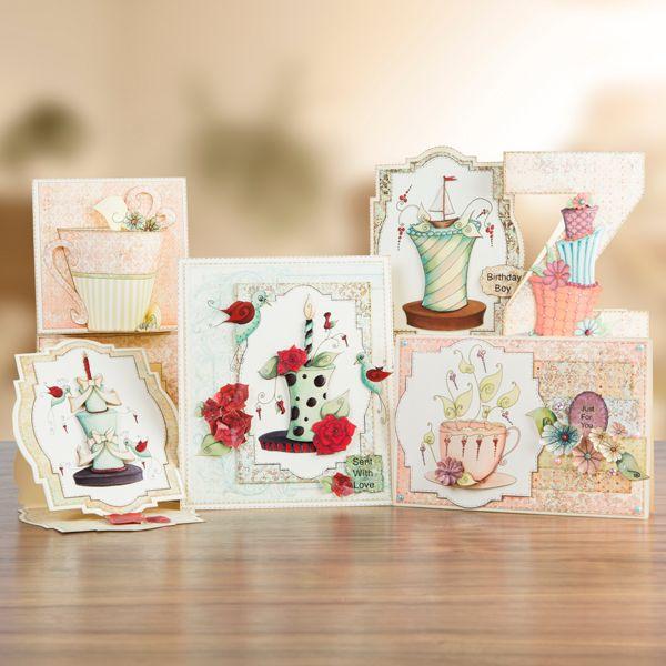 Buy The House of Zandra Fabulous Tea and Cakes CD ROM from CreateAndCraft.tv