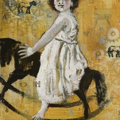 Sophie Gralton painting