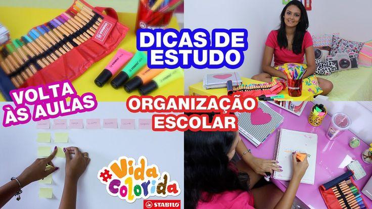 Dicas de Estudo e Organização Escolar   VOLTA ÀS AULAS - Por Jéssica Fre...