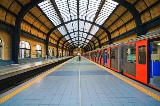 Visit Greece | Piraeus metro station #Piraeus #port #greece #travel